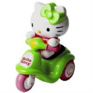 Hello Kitty Baby Mini Scooter Tricycle - Green